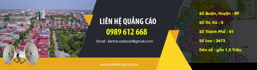 quảng cáo loa phát thanh tỉnh Hưng Yên
