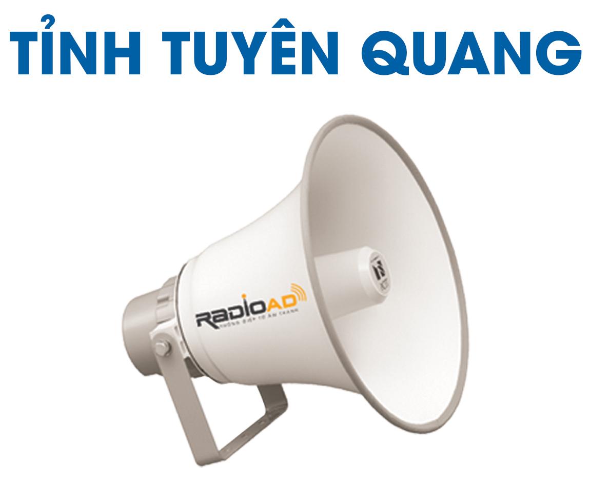 Radio Ad - Bảng giá quảng cáo loa phát thanh tỉnh Tuyên Quang 2020 - Hotline 0989612668