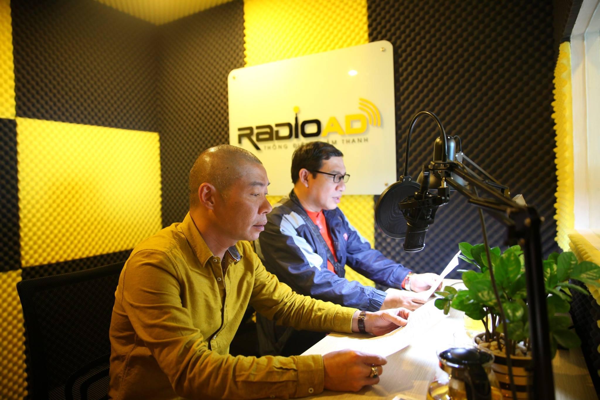 Nghệ sĩ Công Lý và Quang Thắng - Cặp trùng bài đầy ăn ý của Radio Ad