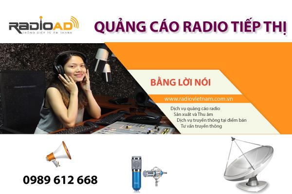 Tiếp thị bằng giọng nói trên radio