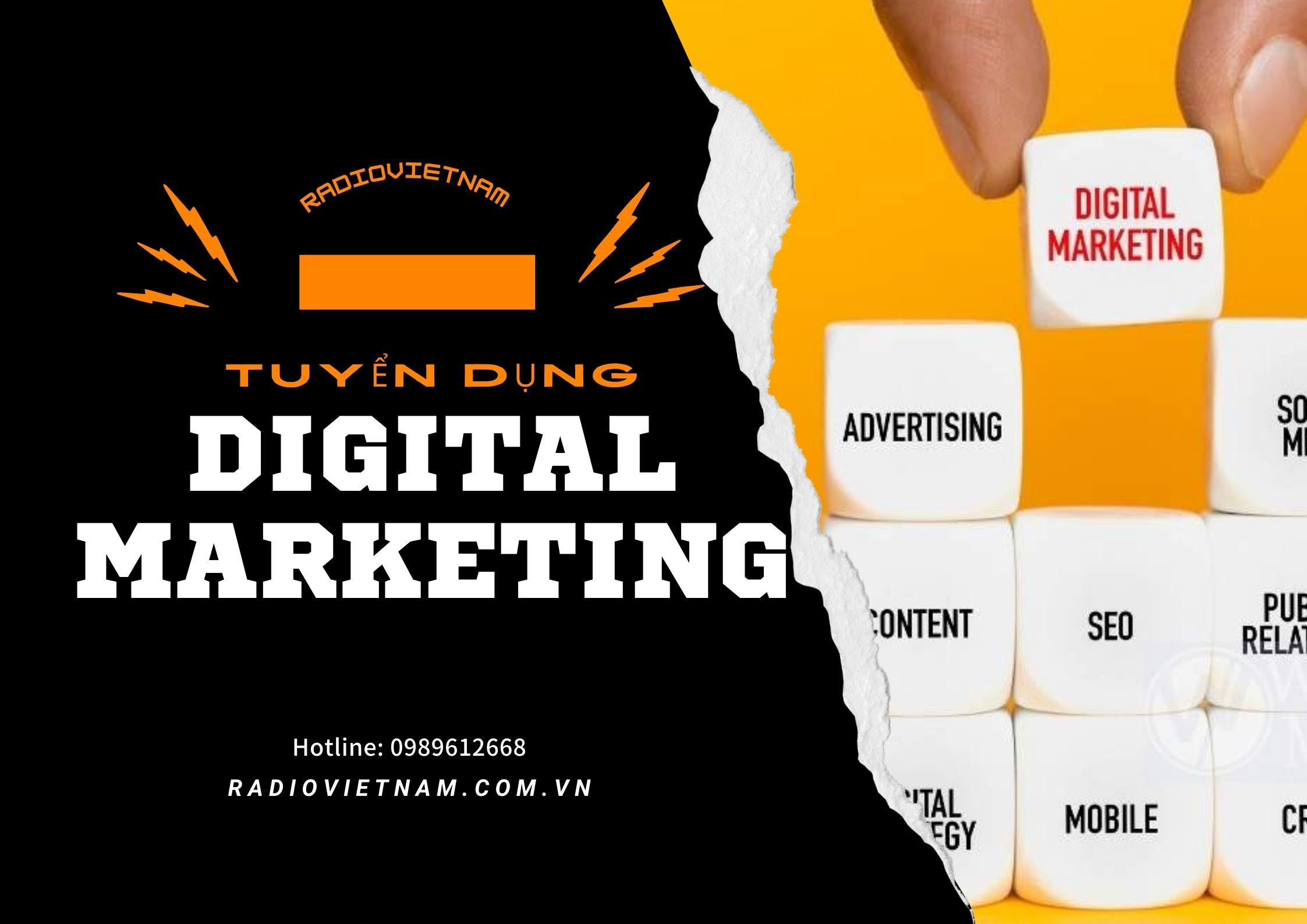 tuyển dụng digtal marketing