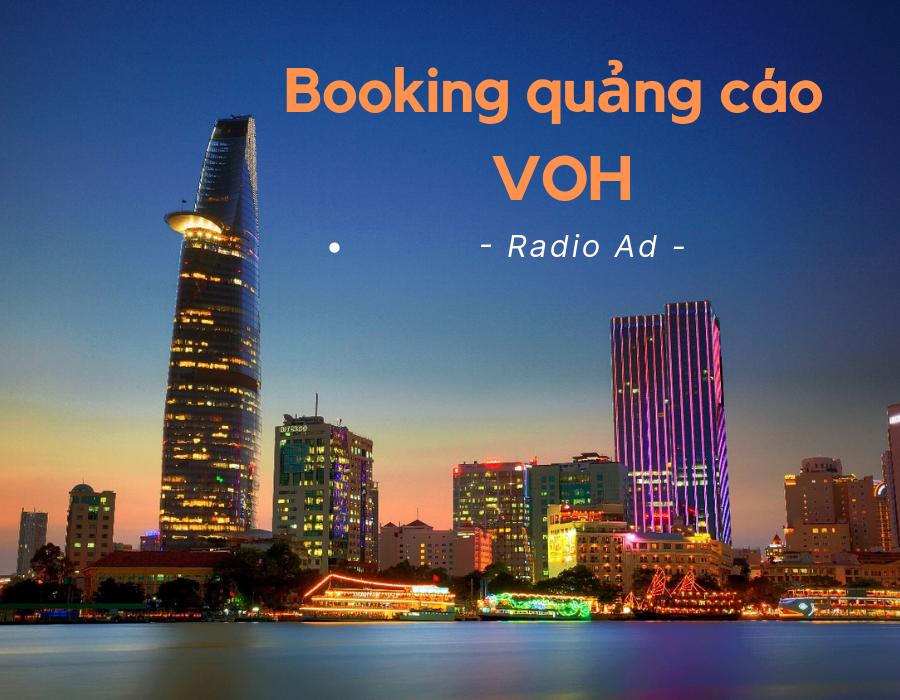 Booking quảng cáo trên kênh VOH