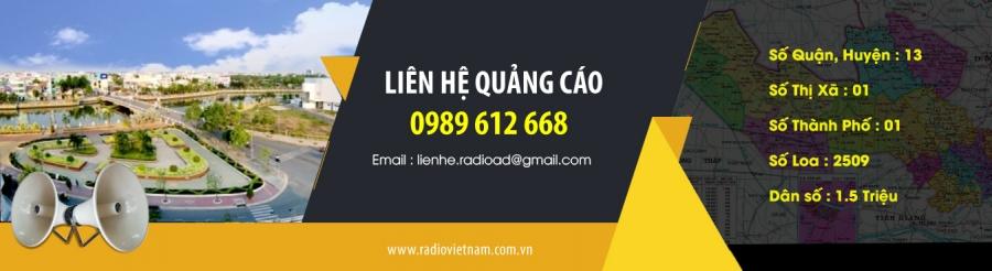 Quảng cáo radio tỉnh Long An