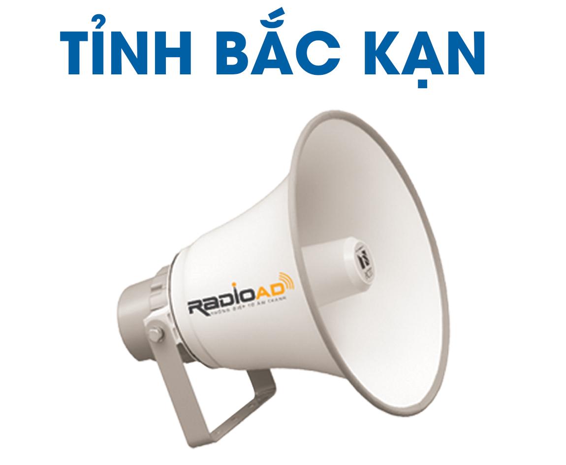 Bảng giá quảng cáo Loa phát thanh tỉnh Bắc Kạn, Liên hệ: 0989612668