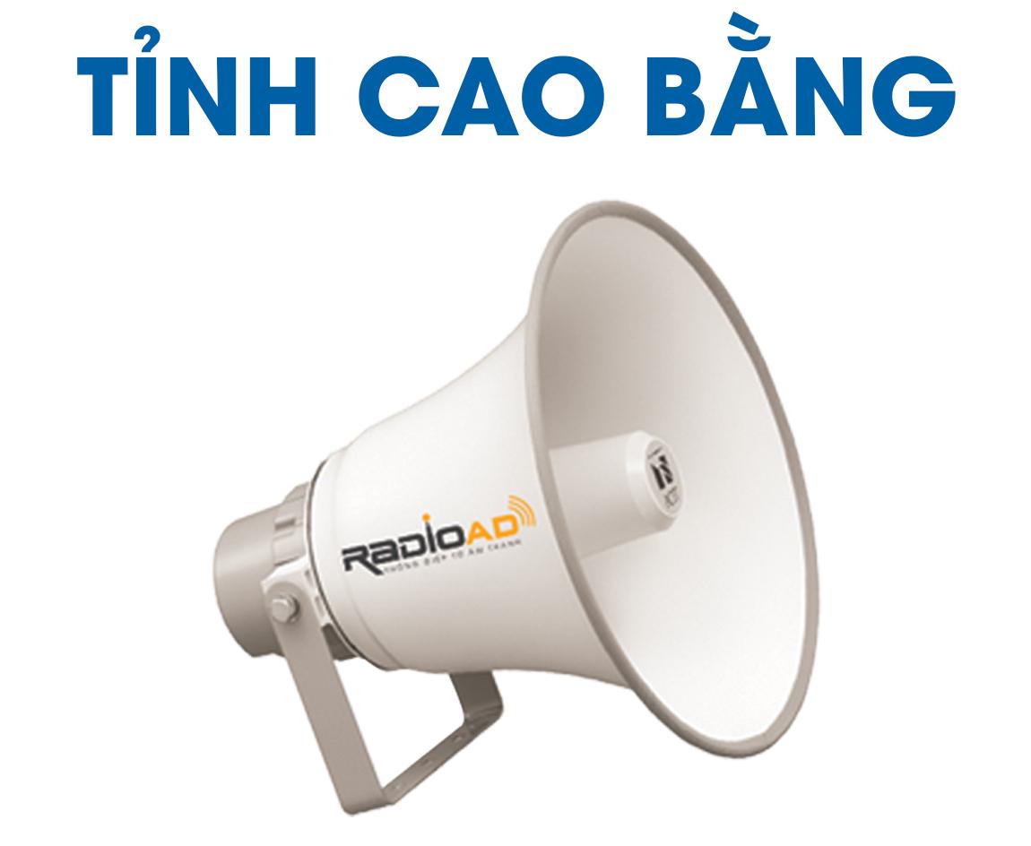Báo giá quảng cáo loa phát thanh Tỉnh Cao Bằng