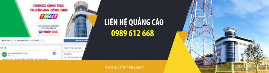 Quảng cáo radio tỉnh Đồng Tháp