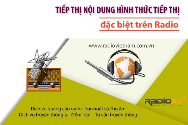 Tiếp thị nội dung hình thức tiếp thị đặc biệt trên radio